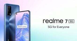 realme 7 5G é um smartphone 5G com preço de aparelho 4G.