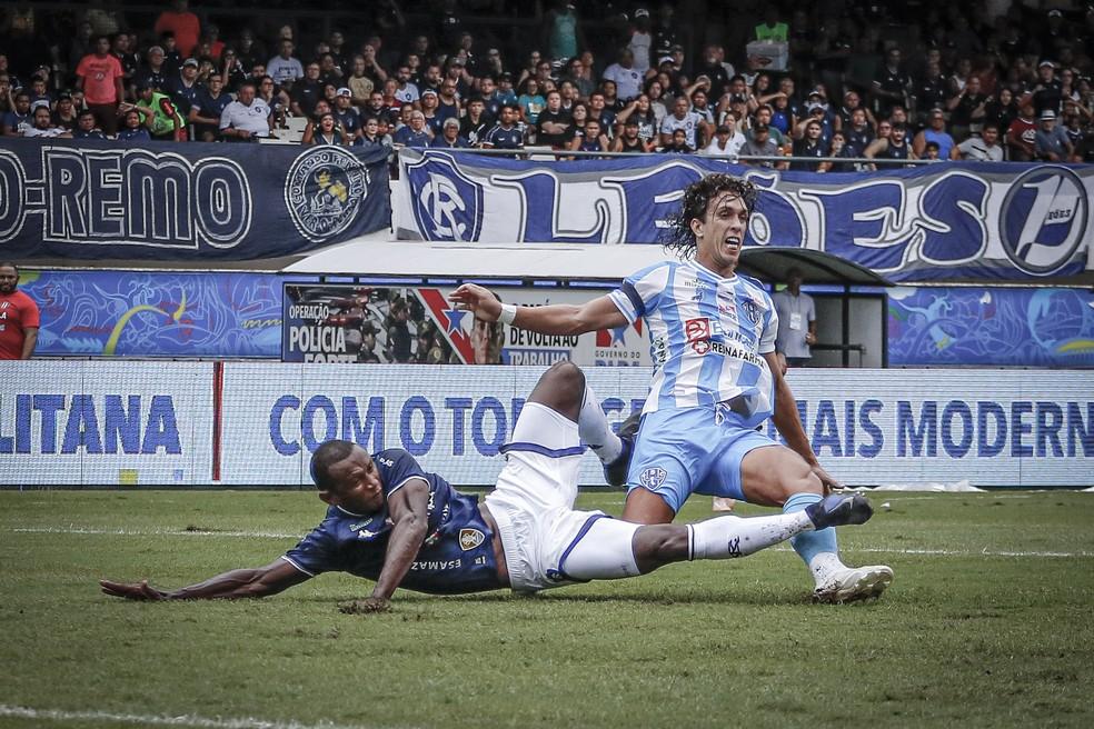 O último clássico Re-Pa com torcida terminou empatado em 1 a 1, no dia 8 de março de 2020 — Foto: Jorge Luiz/Paysandu