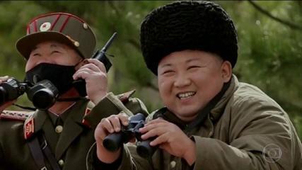 Coreia do Norte lança dois mísseis balísticos em desafio a proibições internacionais