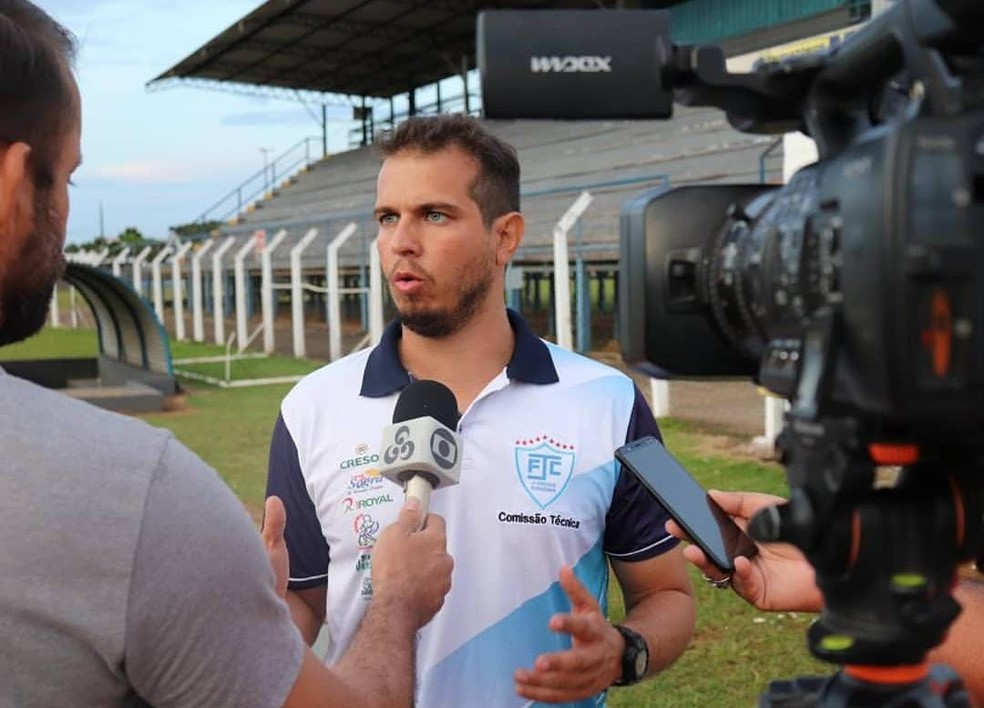 Treinador Bruno Monteiro — Foto: Divulgação/Ji-Paraná