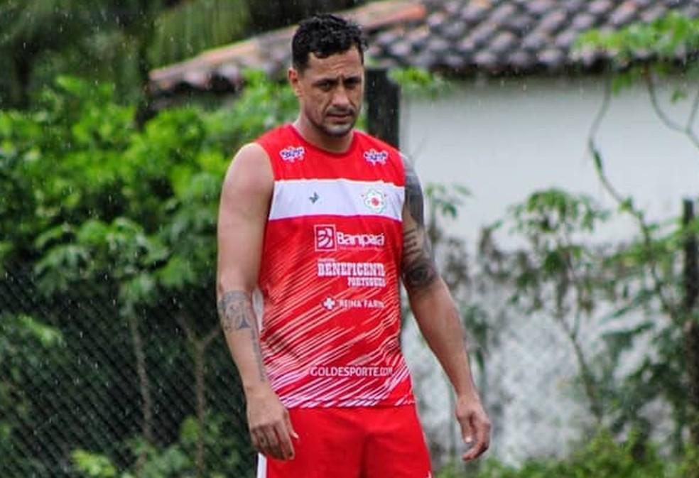 Eduardo Ramos não é mais jogador da Tuna Luso — Foto: Luís Carlos/Ascom Tuna Luso