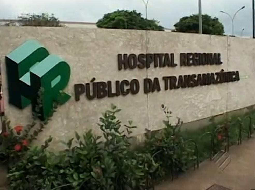 Hospital Regional da Transamazônica — Foto: Reprodução / TV Liberal