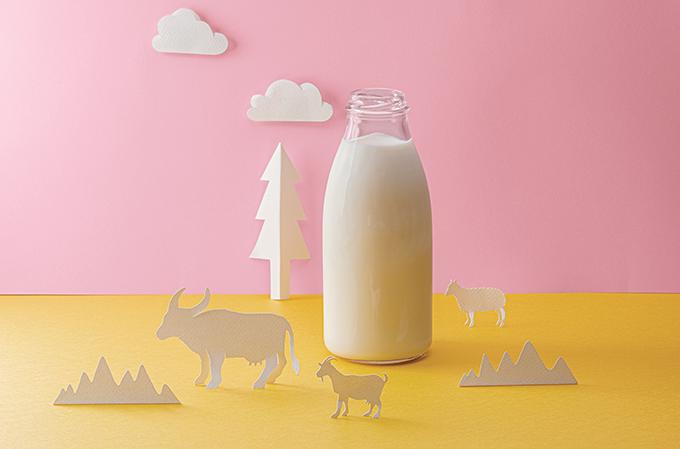 leites de cabra, ovelha e búfala