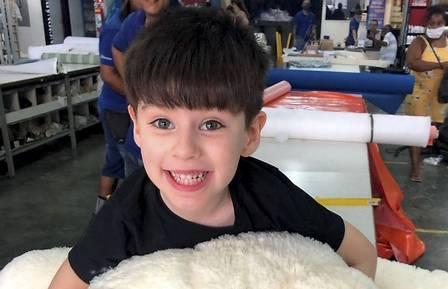 """Henry Borel, de 4 anos, que morreu de hemorragia: o menino teria dito à mãe, segundo a própria Monique, que ela """"fosse pro céu"""" para que pudesse morar com os avós"""