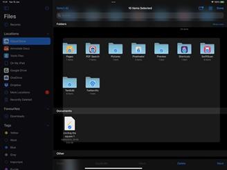 Sistema de Arquivos atualizado no iPadOS 15. (Fonte: Mac Rumors / Reprodução)