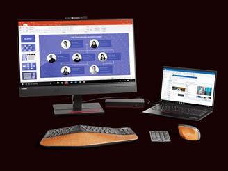 Os periféricos podem ser configurados no software Lenovo Go Central.
